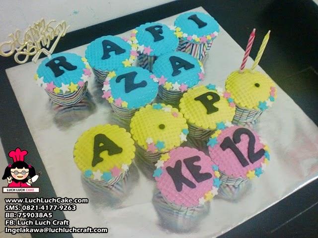 Cupcake Mini Murah Untuk Ulang Tahun