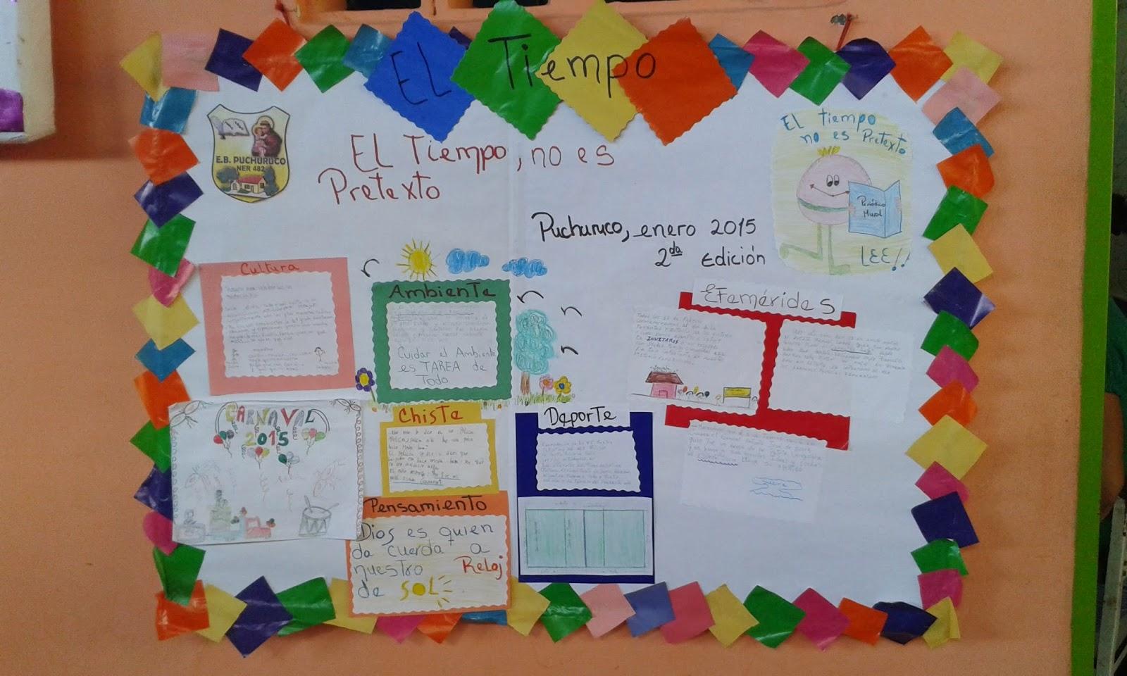 Pancartas sobre la familia for Estructura del periodico mural wikipedia