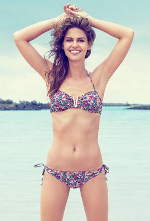 bikini estampado floral Suiteblanco