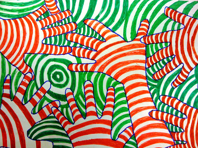 lesson plan wednesday color theory op art hands artful artsy amy