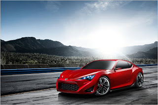 Scion FR-S concept sports coupe