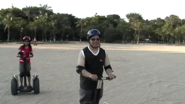 Singapore Sentosa Segway at Tanjong Beach