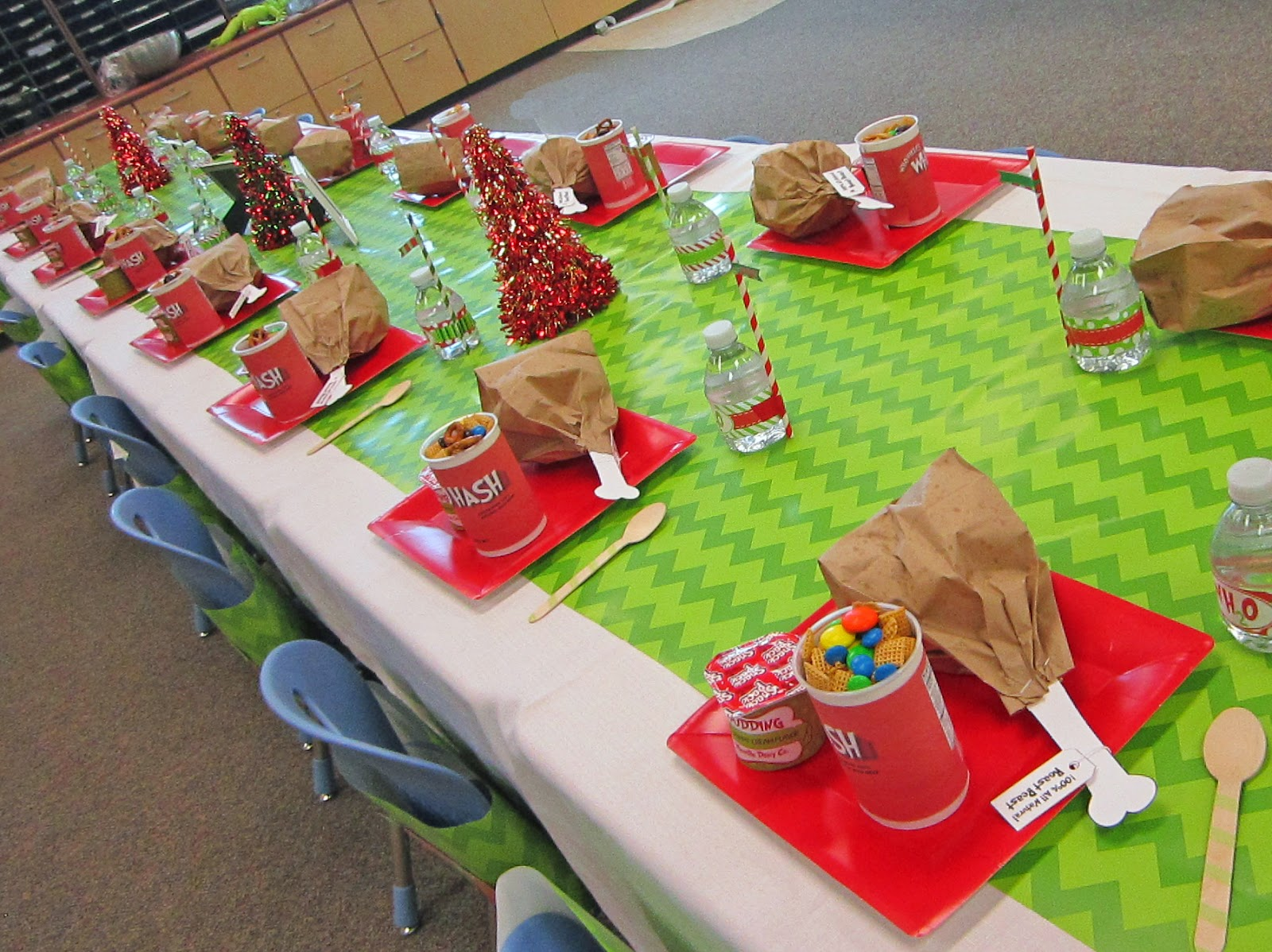 Classroom Birthday Party ~ Sweeten your day events grinch classroom party