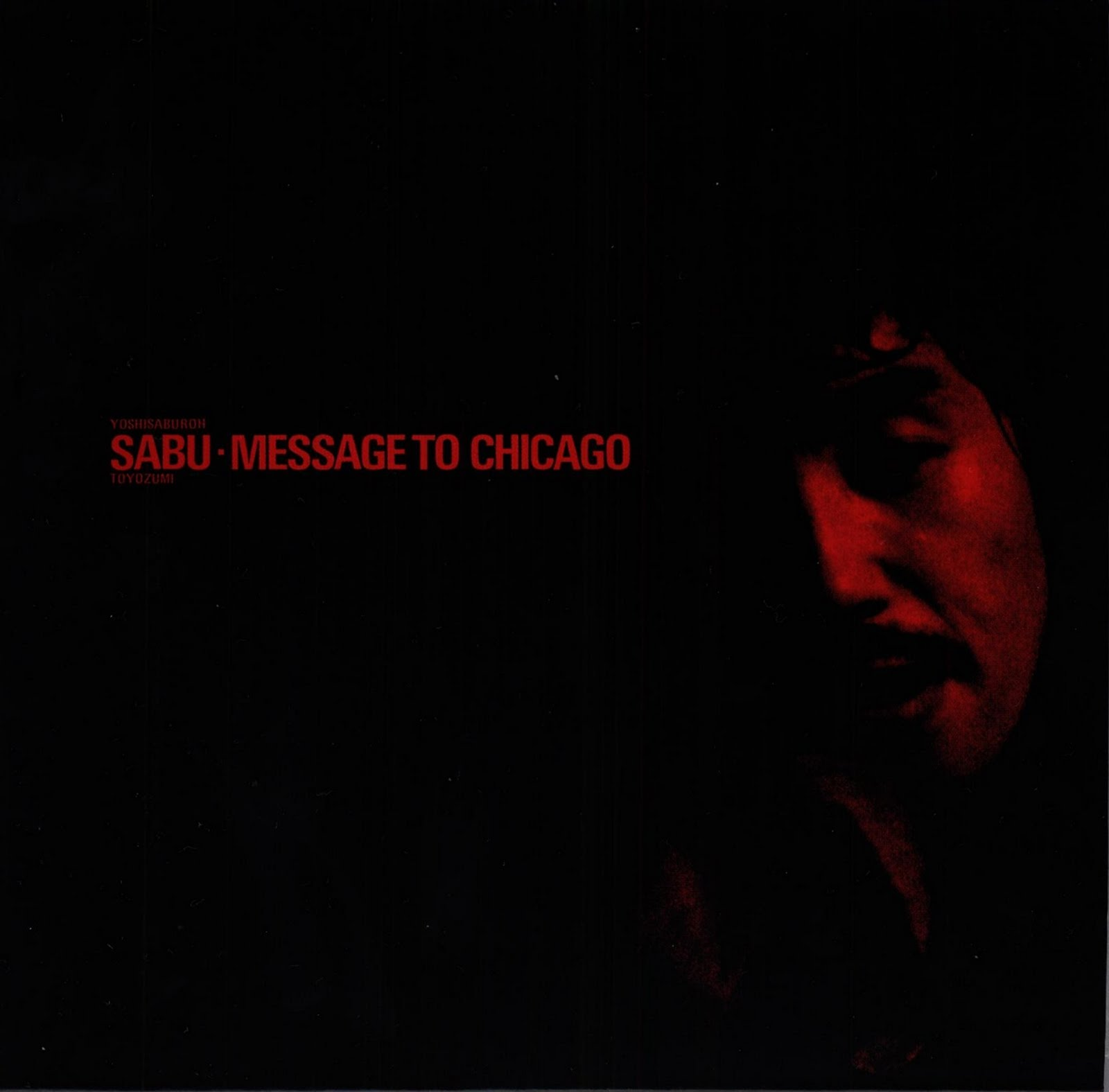 inconstant sol  SABU TOYOZUMI MESSAGE TO CHICAGO NADJA  Trio  1974
