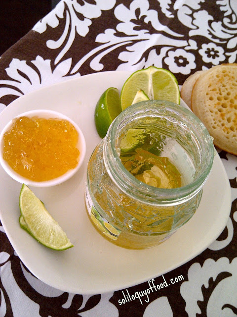 Friday's Finds  - Lime Marmalade via soliloquyoffood.com