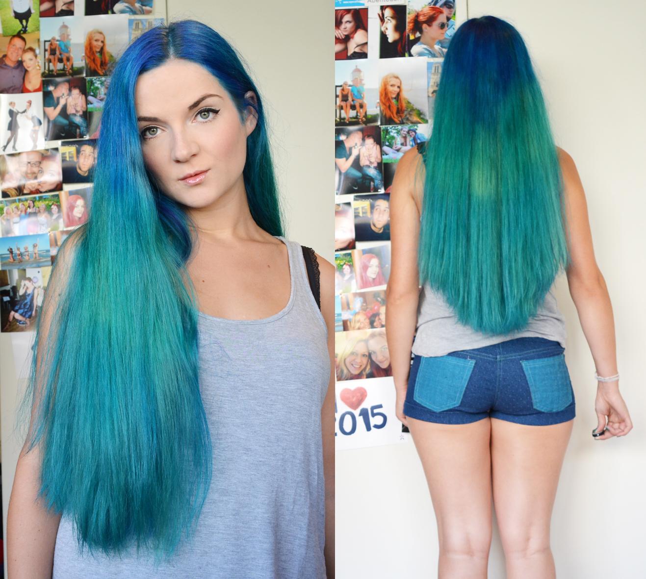Fr.Ausverkauft!: Mittwochs mag ich - blaue Haare!
