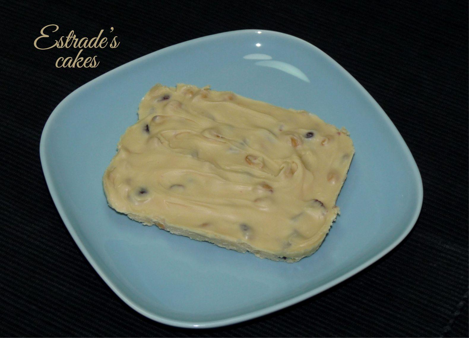 receta de turrón de chocolate blanco y arándanos - 4