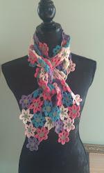 Opskrift på blomstertørklæde