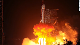 China's first lunar probe to land on the moon this weekend