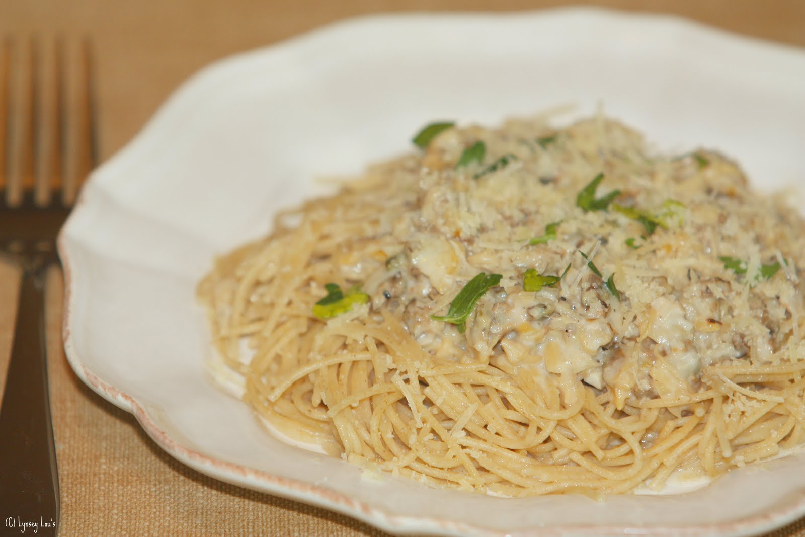 Lynsey Lou's: Linguini with Clam Sauce