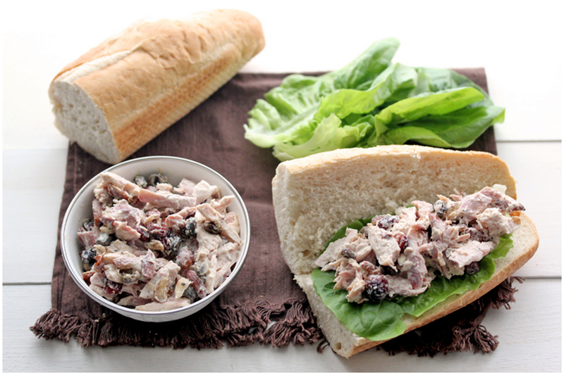 Foodagraphy. By Chelle.: Chicken salad sandwiches
