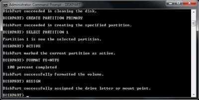 Cara Membuat Bootable USB Windows 7