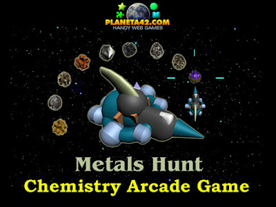 Metals Hunt Chemistry Game
