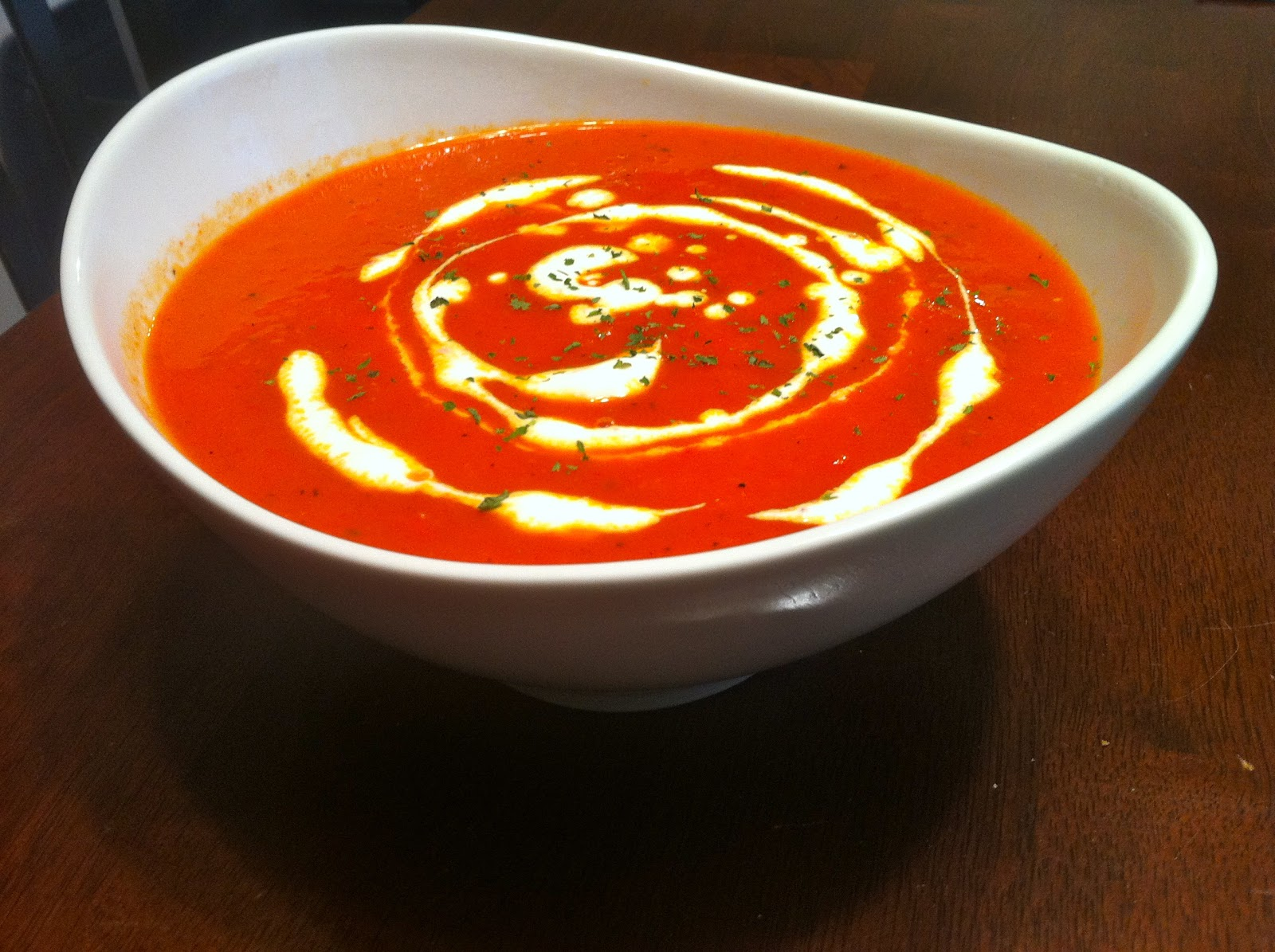 Only Soups: Roasted Red Pepper Soup