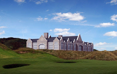 the totally magnificent Gareth Hoskins design for Dr Donald Trump's Clubhouse at Menie