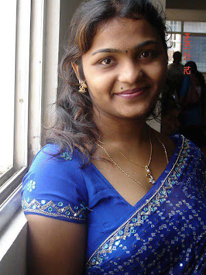 Homely and soft nature Tamil Nadu girl at her friend's house.