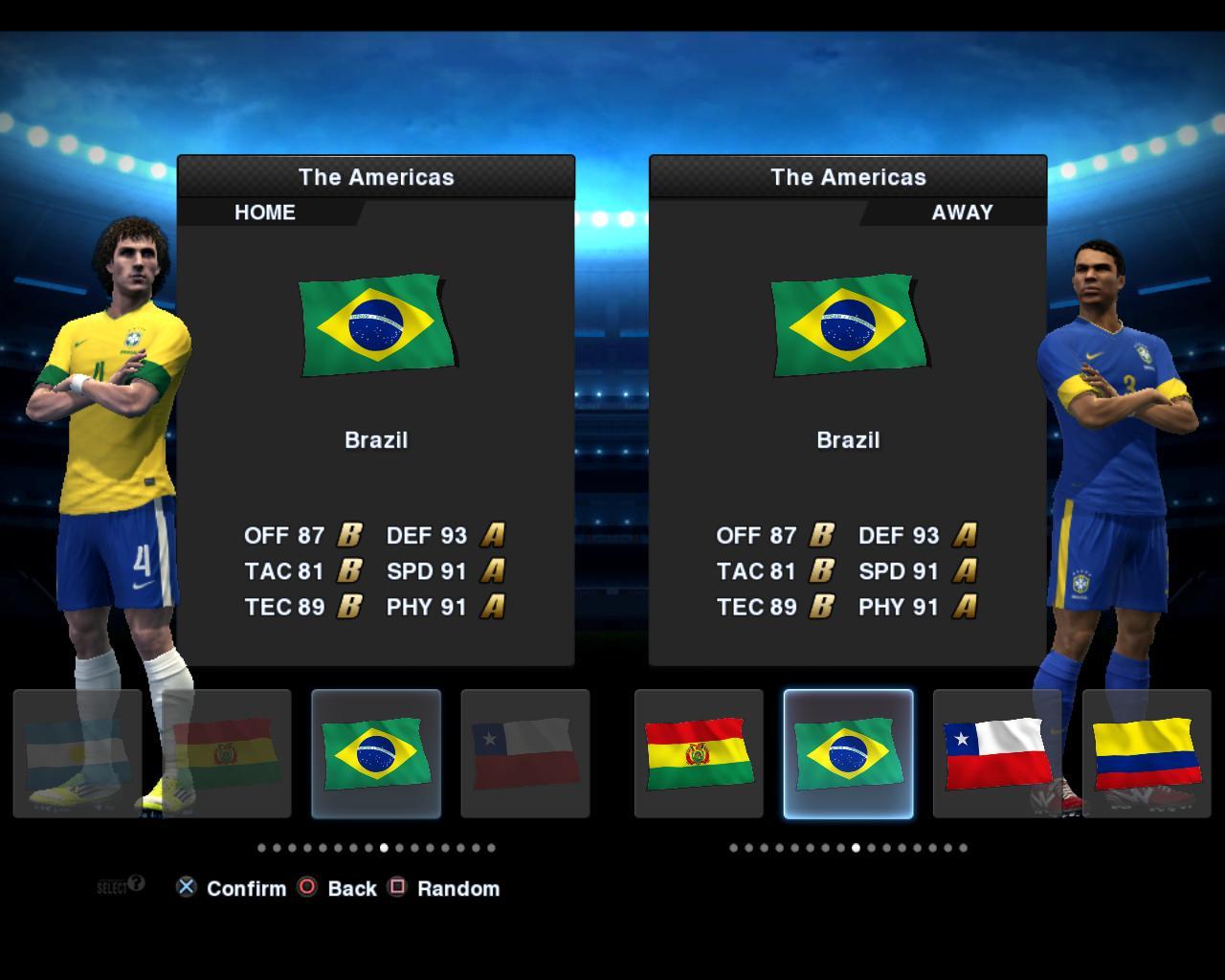 Brasil 2012/13 Kitset - PES 2013