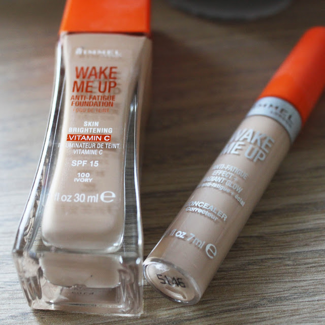 Rimmel wake me up foundation review, Rimmel wake me up concealer  review