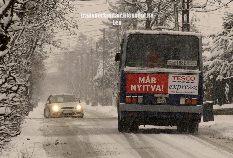 Sűrű hóesés,a nagyhét karácsonyi hangulatban telt