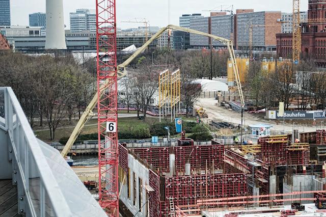 Baustelle Berliner Schloss, Stadtschloss, Schlossplatz, 10178 Berlin, 22.03.2014