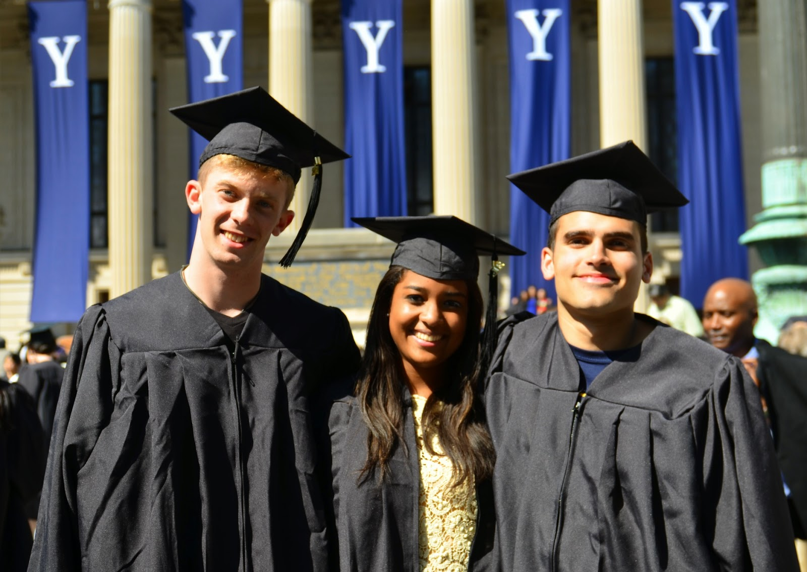 ParadoxUganda: Yale Graduation, Part One: Parties and Baccalaureate