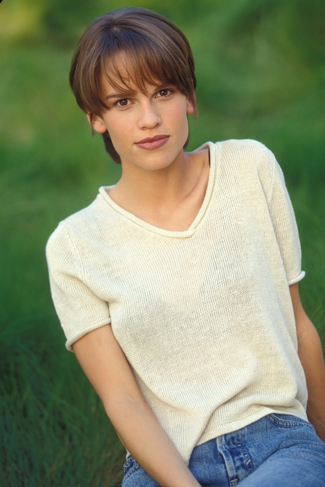 Hilary Swank As Young Girl Photo 3