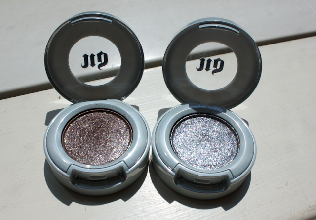 Urban Decay Moondust Eyeshadows Diamond Dog Moonspoon Review Swatches