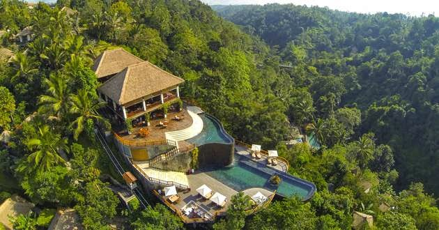The most amazing hotels in the world nakedlydressed for Bali indonesia hotels 5 star