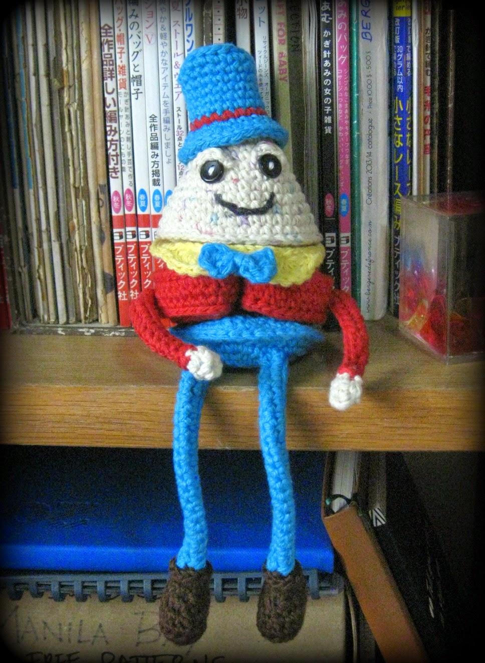 humpty dumpty crochet puzzle
