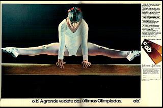 propaganda O.B. - 1976. década de 70. os anos 70; propaganda na década de 70; Brazil in the 70s, história anos 70; Oswaldo Hernandez;