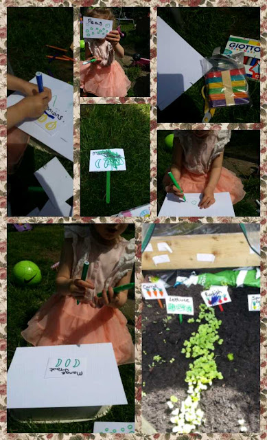 How to make vegetable patch markers, www.emmysmummy.com
