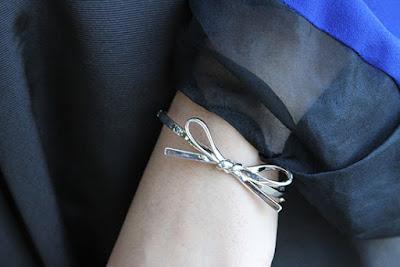 Silver Bow Kate Spade Bracelet