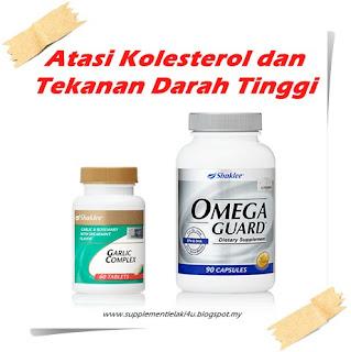 masalah kolesterol dan tekanan darah tinggi