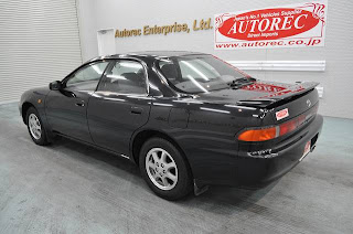 1996 Toyota Carina ED to USA
