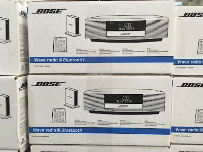 bose wave radio iii with bluetooth costco weekender. Black Bedroom Furniture Sets. Home Design Ideas