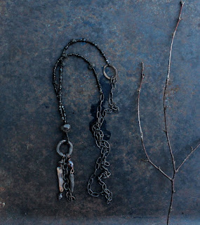 Long rune necklace