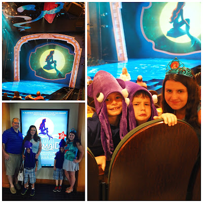 Disney's The Little Mermaid @ Chicago Shakespeare Theater on Navy Pier now through August 16, 2015.