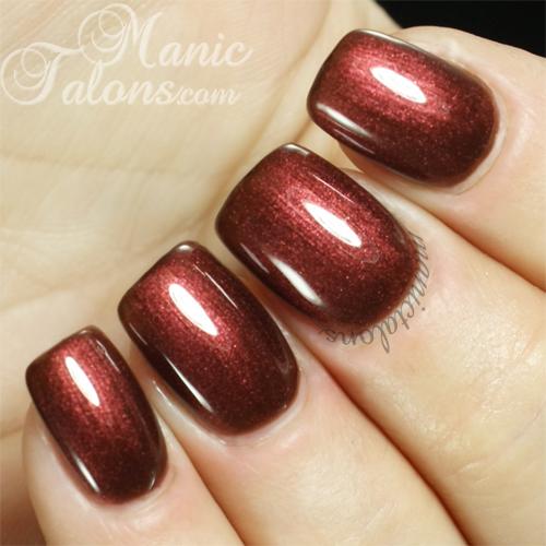 Pink Gellac Chestnut Brown Swatch