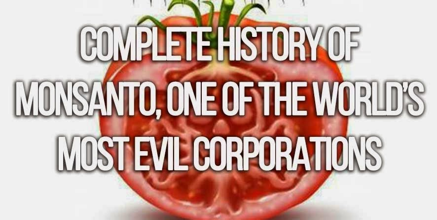 Complete history of Monsanto, one of the world's most evil corporations