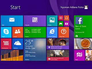 Kesan Pertama Menggunakan Microsoft Windows 8.1 [Windows Blue]