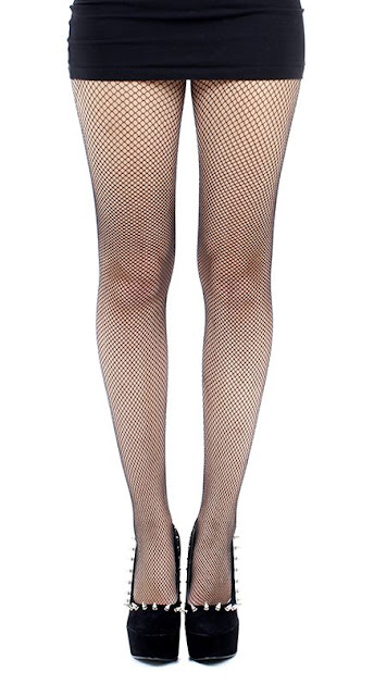 plus size fishnets