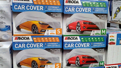 Protect your car from the elements with the Coverking Car Cover (size small and medium shown)