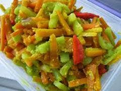 Resep praktis dan mudah membuat masakan acar kuning mentimun wortel spesial enak, lezat