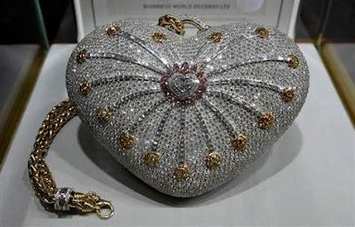Tas Termahal Di Dunia - 1001 Nights Diamond Purse