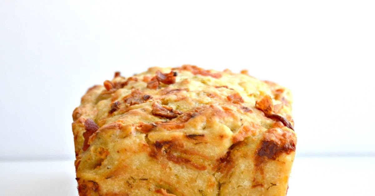 Cheddar & Dill Beer Bread with Bacon and The Recipe Girl ...