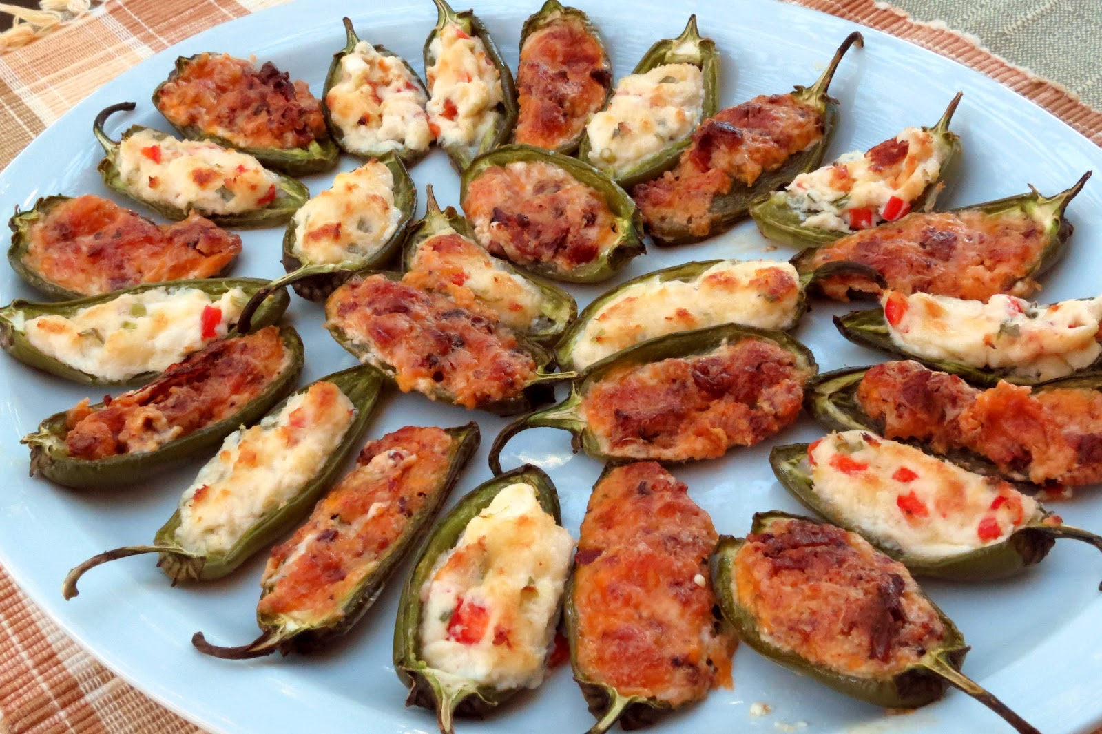 Dinner with the Welches: Baked Stuffed Jalapenos