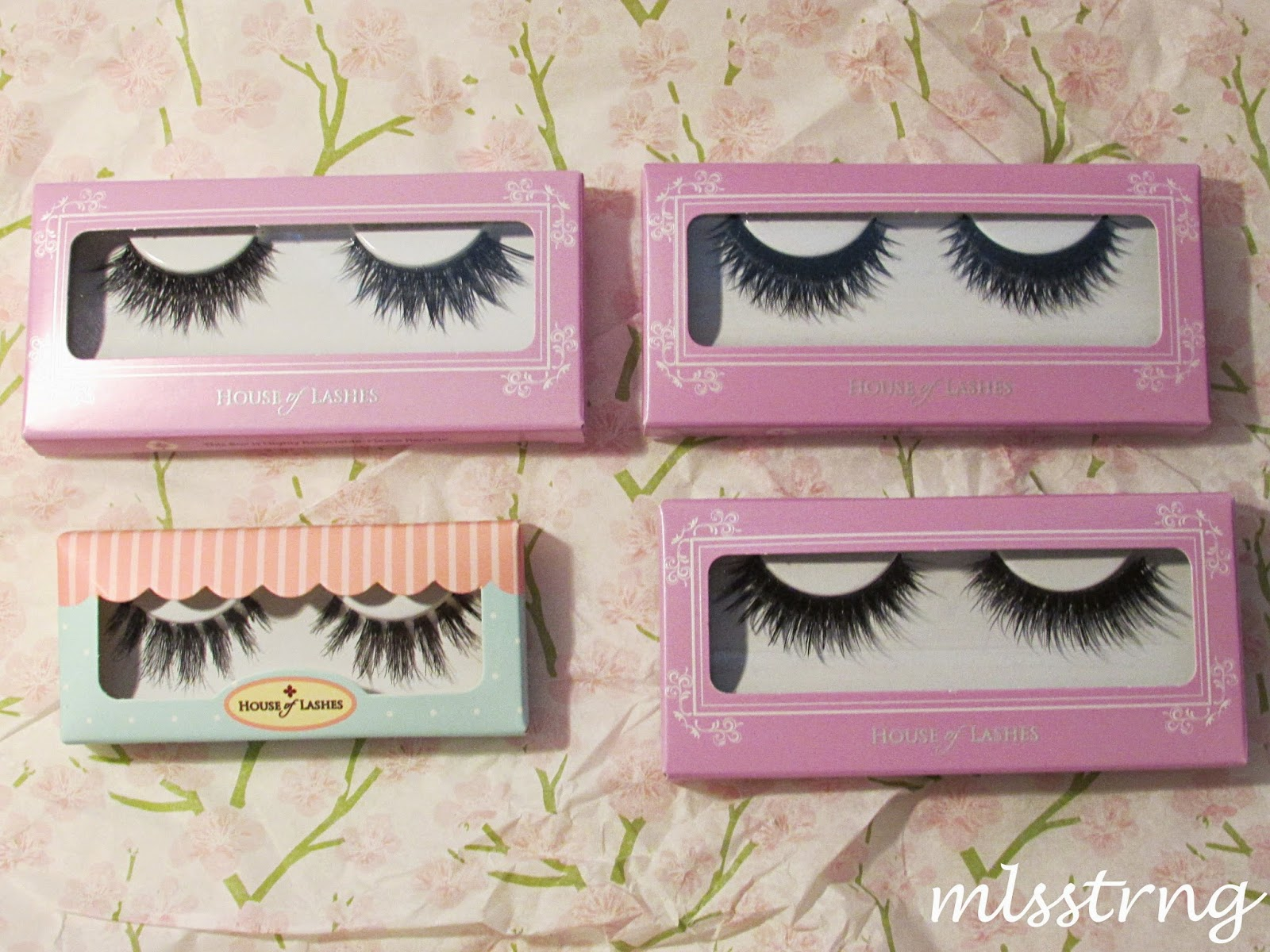 house of lashes hm