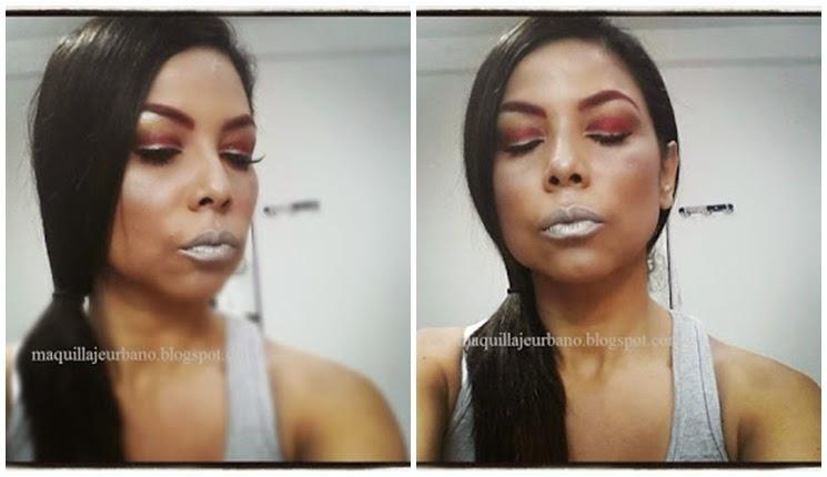 maquillaje iron woman