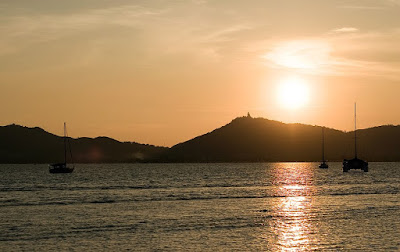 Sunset in Phuket 22nd April 2011