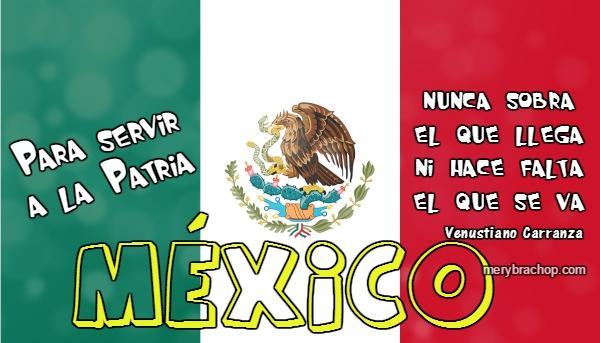 frases independencia heroes mexicanos mexico carranza